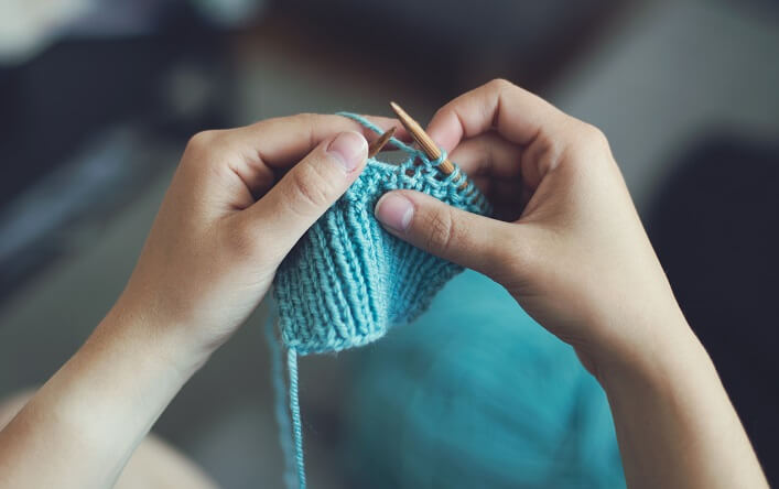budgeting with home knitting